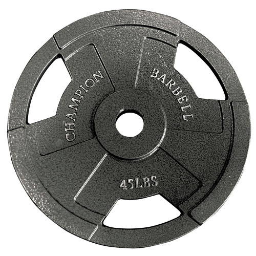 Champion Barbell Olympic Grip Plates