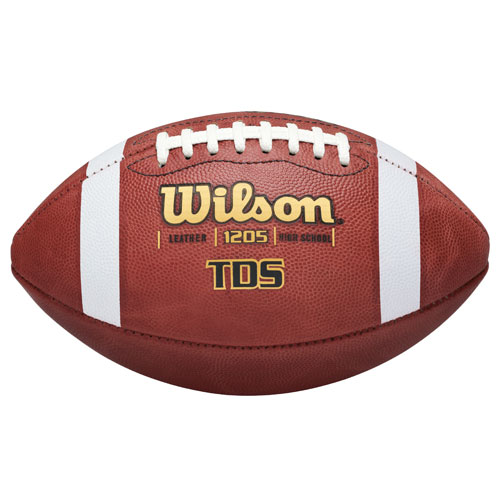 Wilson® TDS Traditional Leather Football