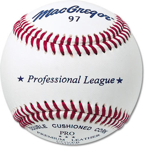 MacGregor® #97 Professional League Baseballs