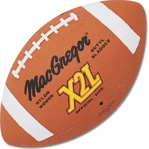 MacGregor Rubber Football
