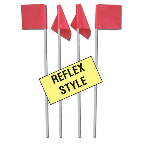 Markers Inc Reflex Soccer Corner Flags